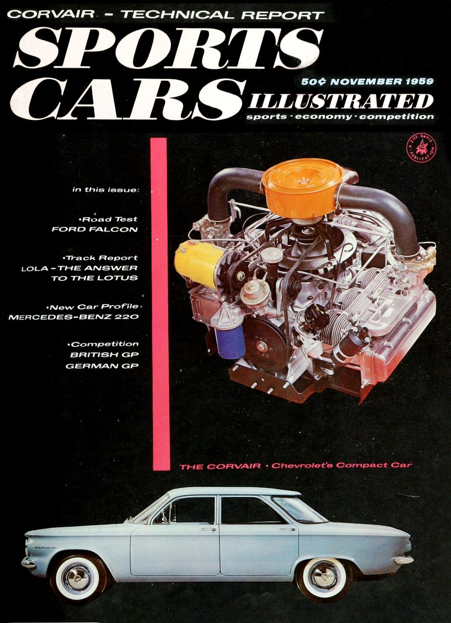 When We Were Young: The Car and Driver/Sports Cars Illustrated Covers of the 1950s - Slide 54