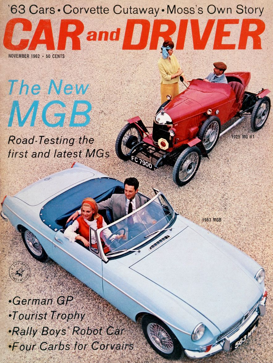 Getting Groovy and into the Groove: The Car and Driver Covers of the 1960s - Slide 36