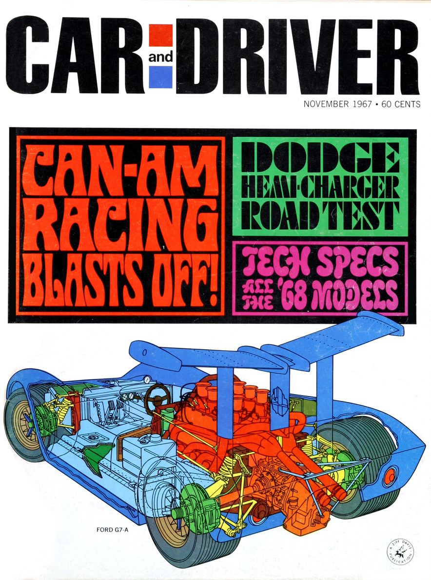 Getting Groovy and into the Groove: The Car and Driver Covers of the 1960s - Slide 96