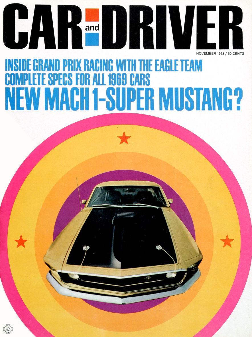 Getting Groovy and into the Groove: The Car and Driver Covers of the 1960s - Slide 108