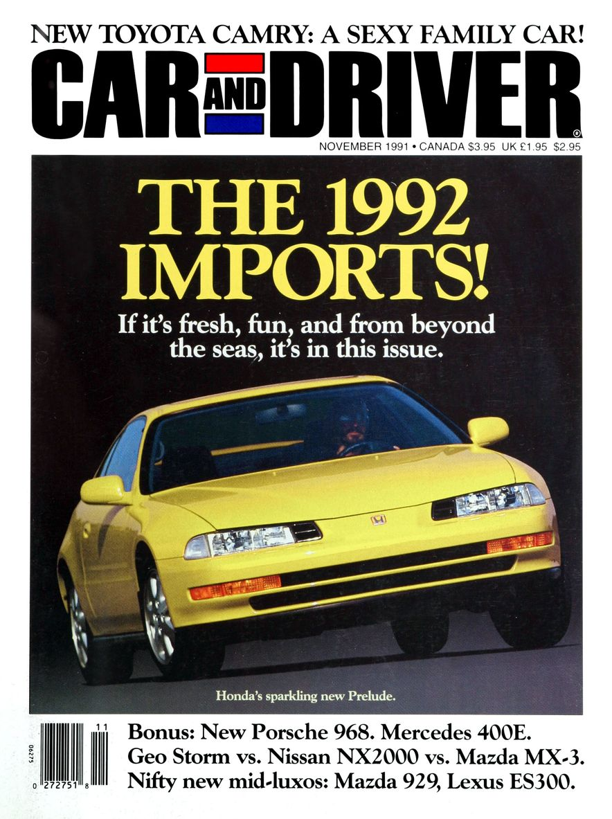 Formula C/D: The Car and Driver Covers of the 1990s - Slide 24