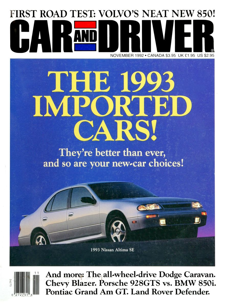 Formula C/D: The Car and Driver Covers of the 1990s - Slide 36