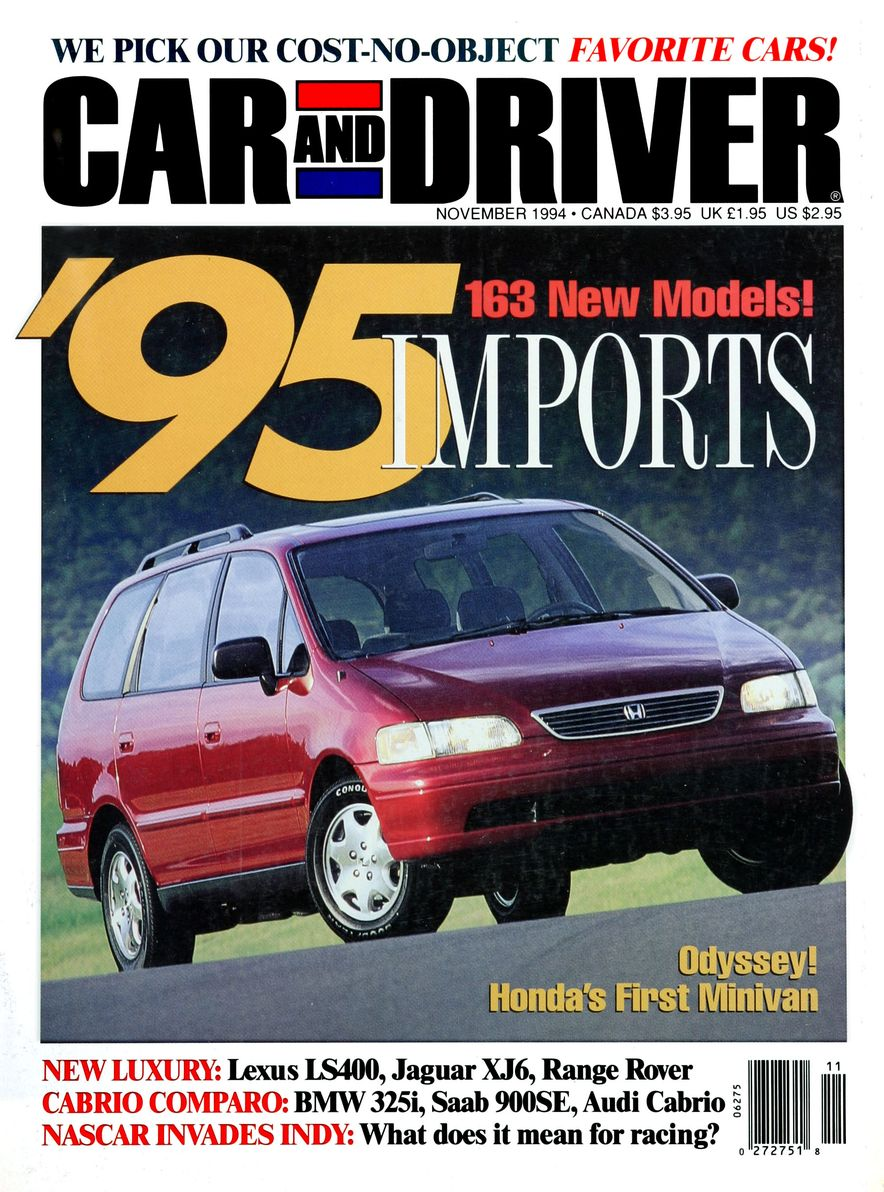Formula C/D: The Car and Driver Covers of the 1990s - Slide 60