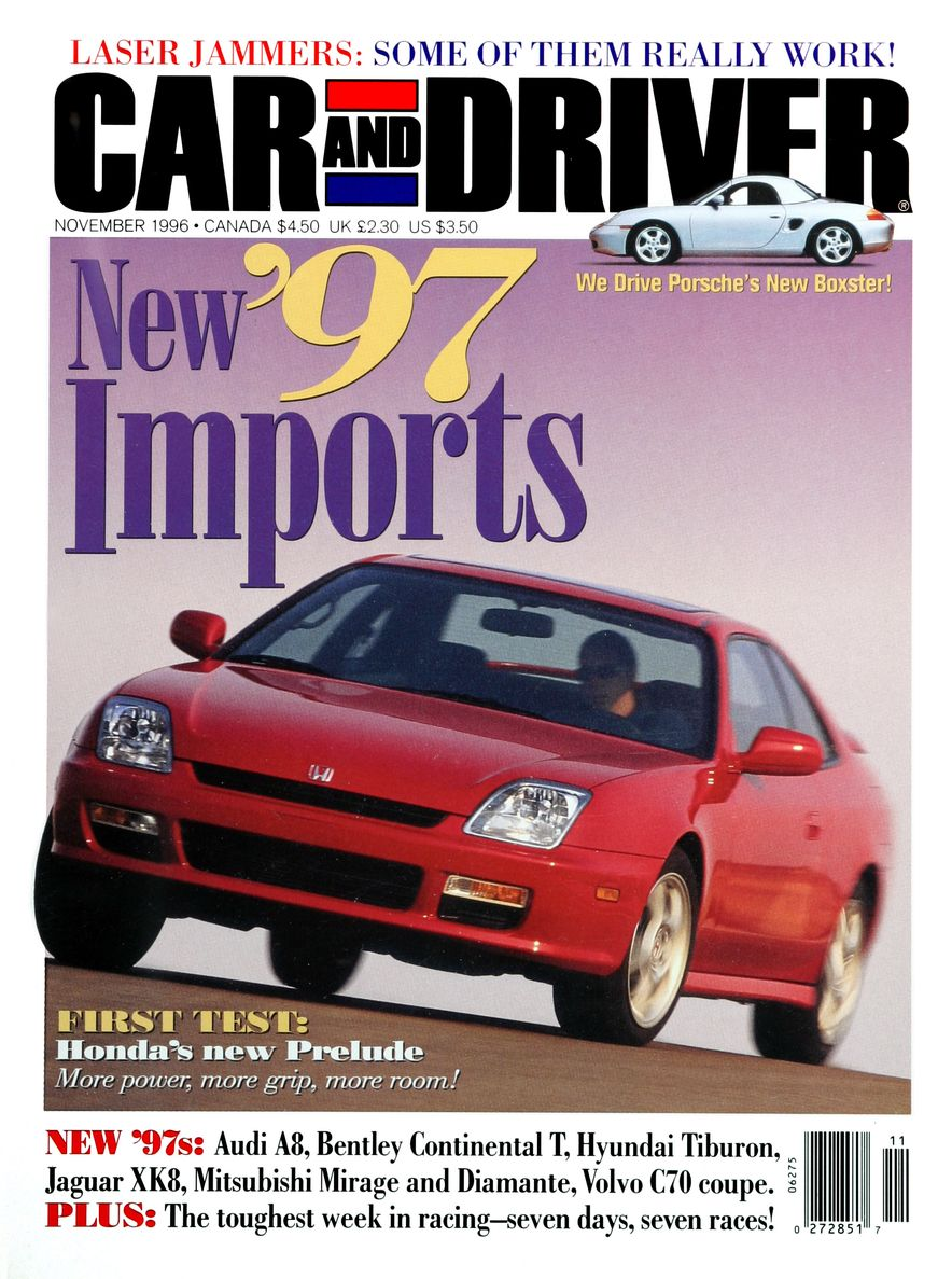 Formula C/D: The Car and Driver Covers of the 1990s - Slide 84
