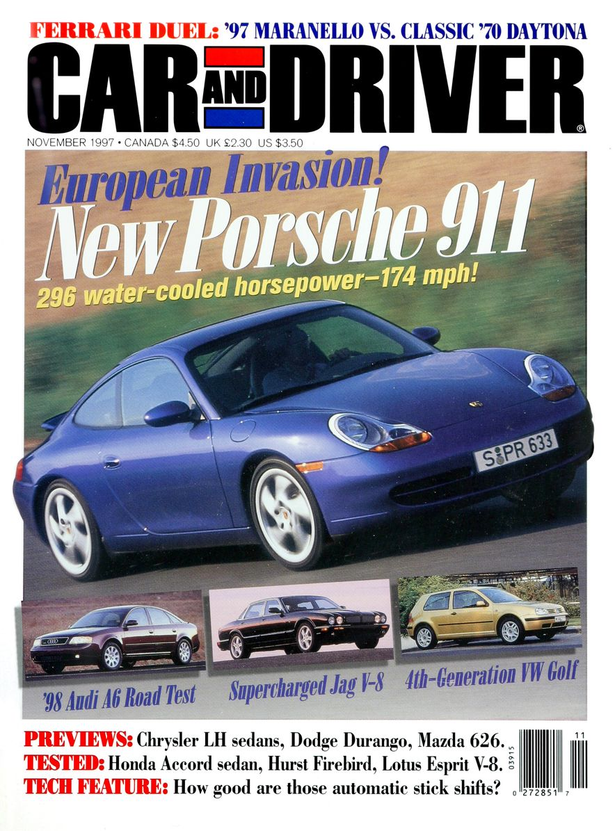 Formula C/D: The Car and Driver Covers of the 1990s - Slide 96