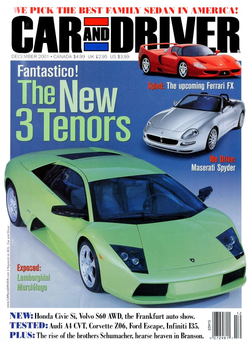 Going Millennial: The Car and Driver Covers of the 2000s and 2010s - Slide 25
