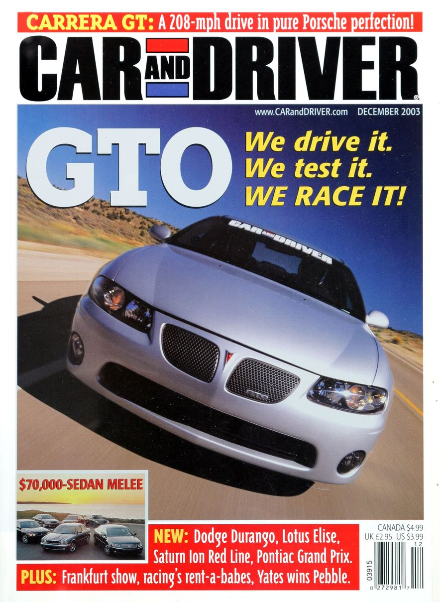 Going Millennial: The Car and Driver Covers of the 2000s and 2010s - Slide 49