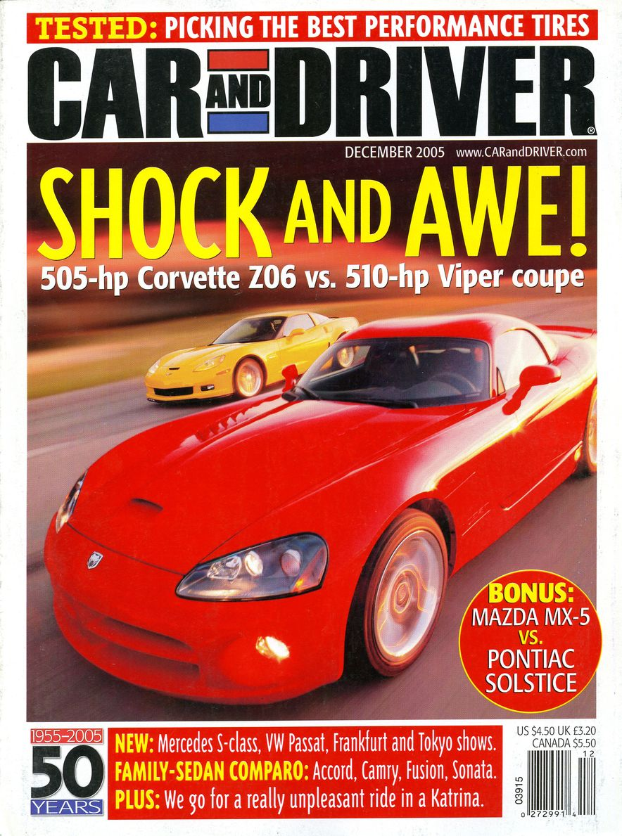Going Millennial: The Car and Driver Covers of the 2000s and 2010s - Slide 73