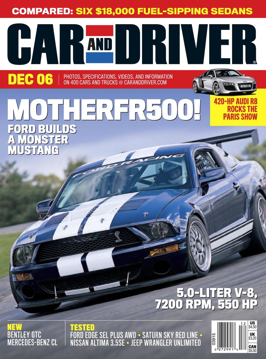 Going Millennial: The Car and Driver Covers of the 2000s and 2010s - Slide 85