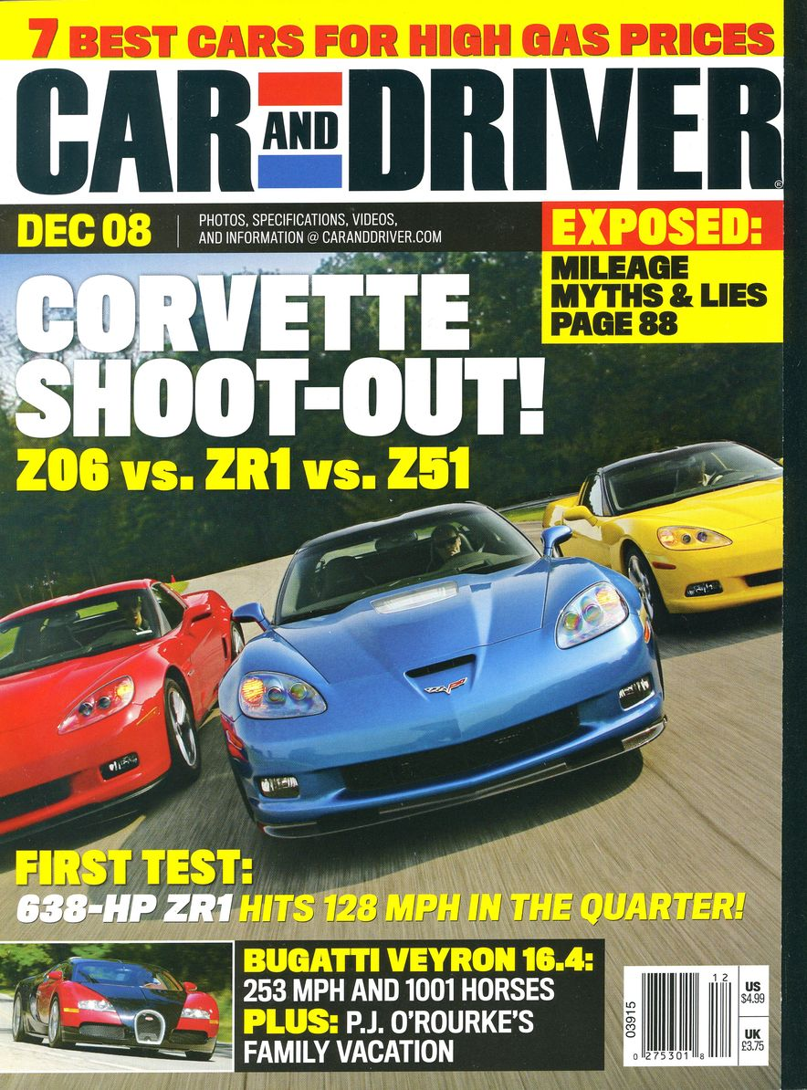 Going Millennial: The Car and Driver Covers of the 2000s and 2010s - Slide 109