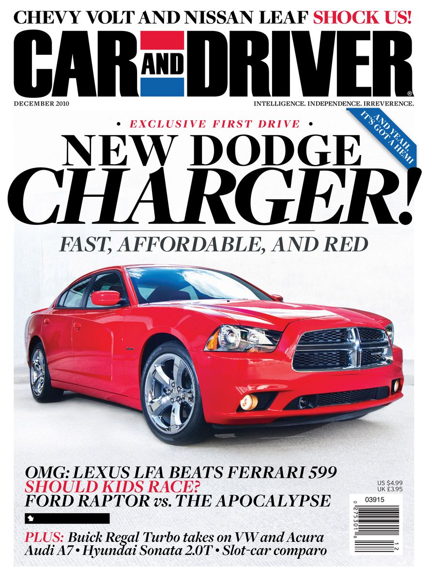 Going Millennial: The Car and Driver Covers of the 2000s and 2010s - Slide 133