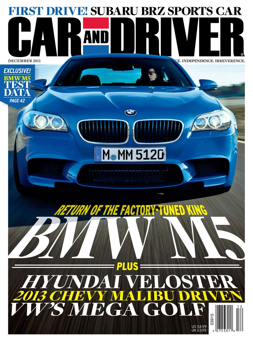 Going Millennial: The Car and Driver Covers of the 2000s and 2010s - Slide 145