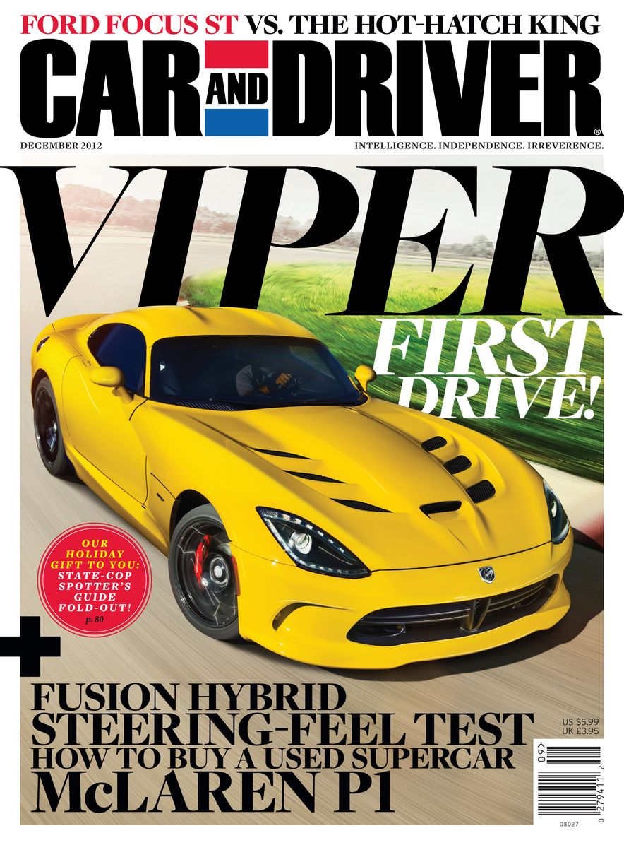 Going Millennial: The Car and Driver Covers of the 2000s and 2010s - Slide 157