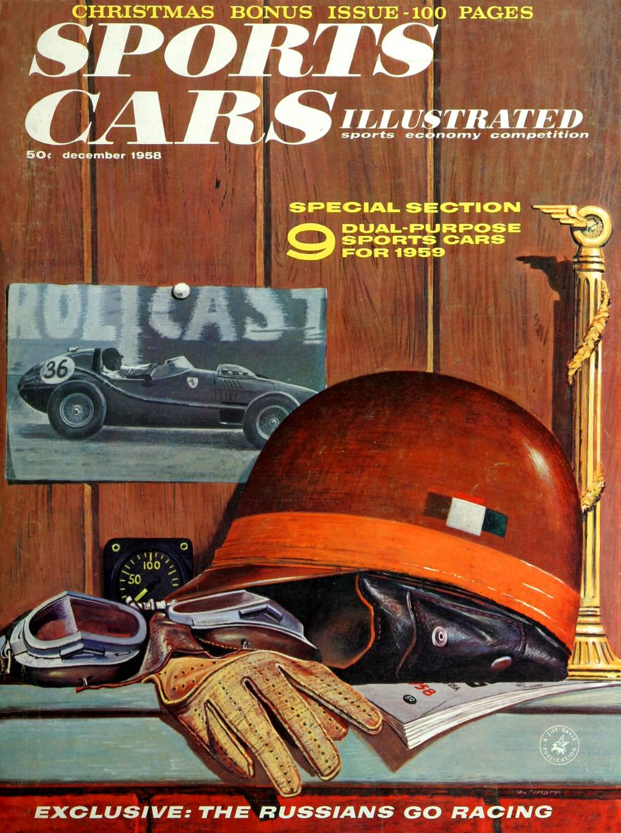 When We Were Young: The Car and Driver/Sports Cars Illustrated Covers of the 1950s - Slide 43