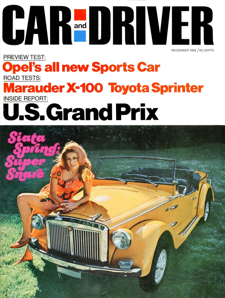 Getting Groovy and into the Groove: The Car and Driver Covers of the 1960s - Slide 109
