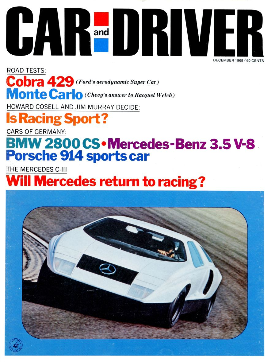 Getting Groovy and into the Groove: The Car and Driver Covers of the 1960s - Slide 121