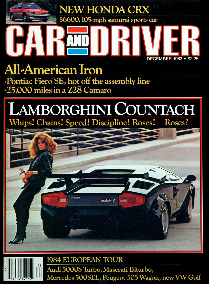 Like, Totally Rad: The Car and Driver Covers of the 1980s - Slide 49