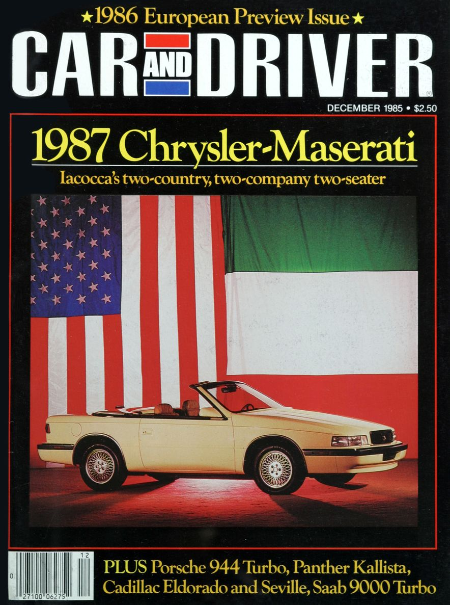 Like, Totally Rad: The Car and Driver Covers of the 1980s - Slide 73
