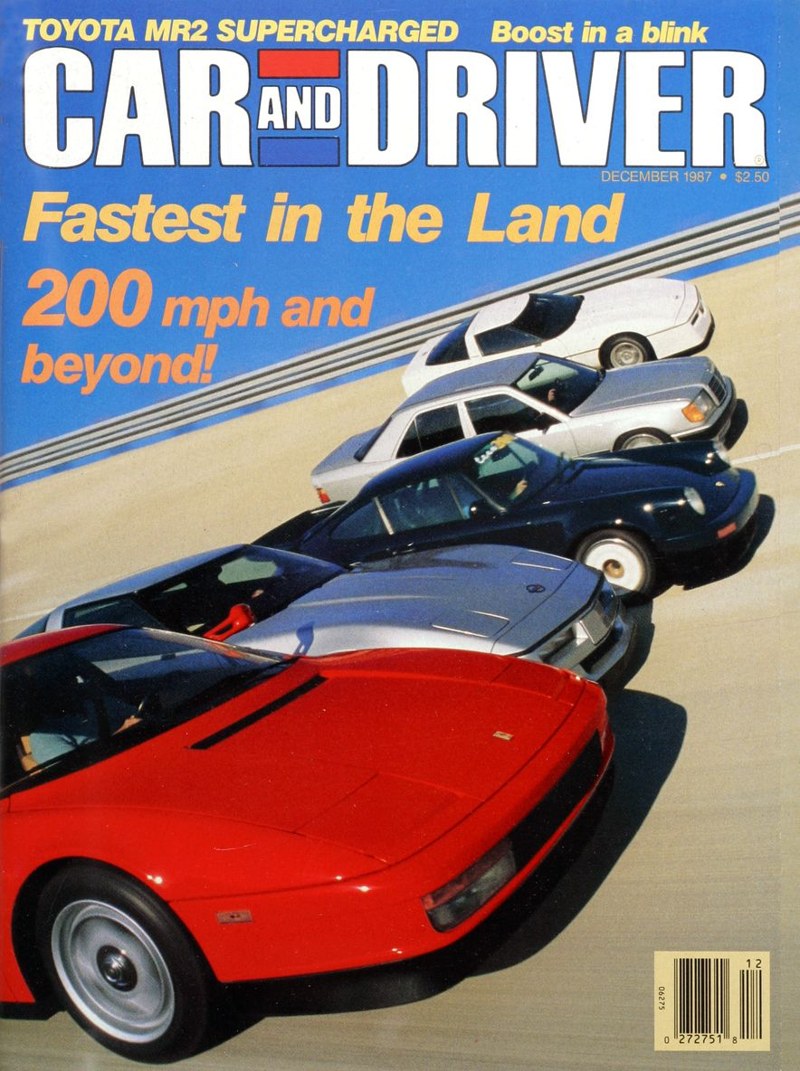 Like, Totally Rad: The Car and Driver Covers of the 1980s - Slide 97