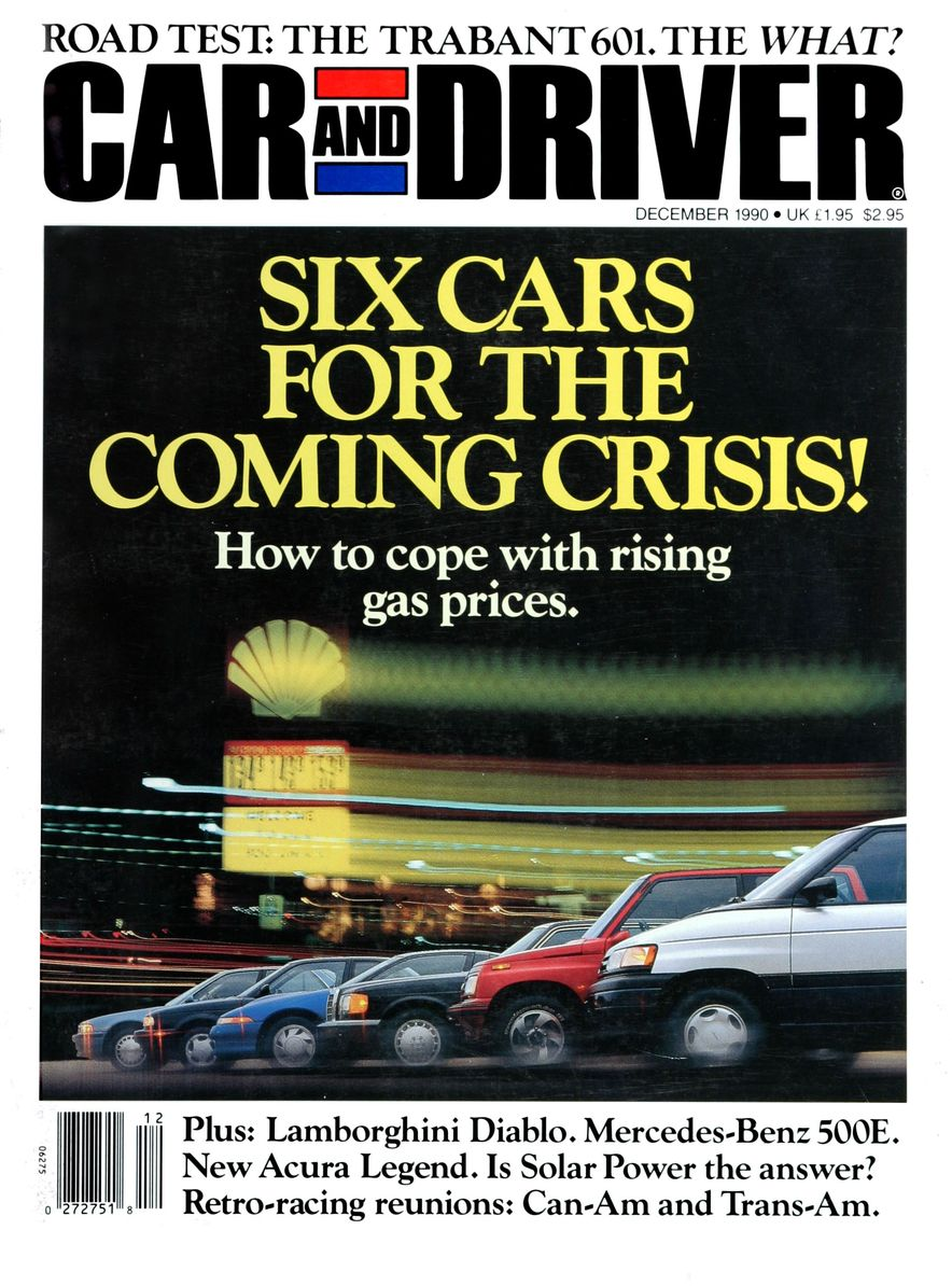 Formula C/D: The Car and Driver Covers of the 1990s - Slide 13