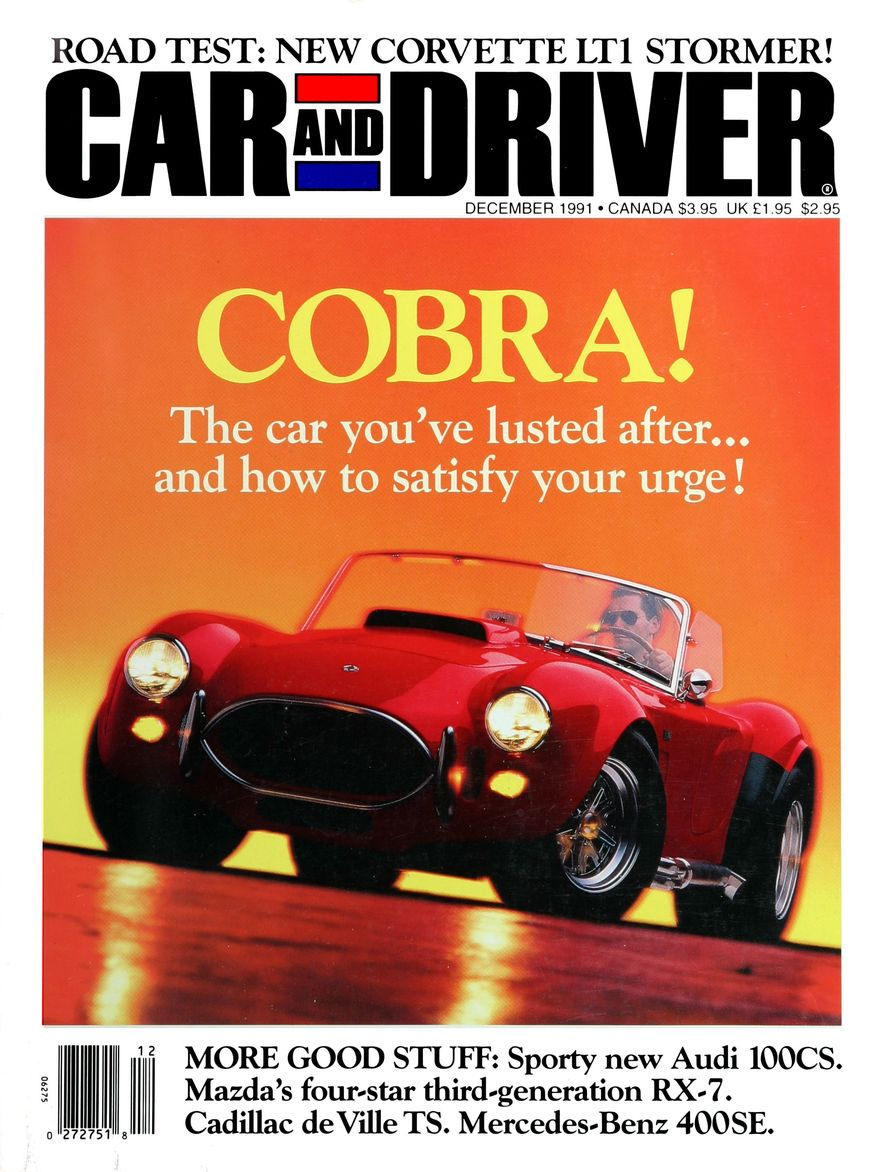 Formula C/D: The Car and Driver Covers of the 1990s - Slide 25