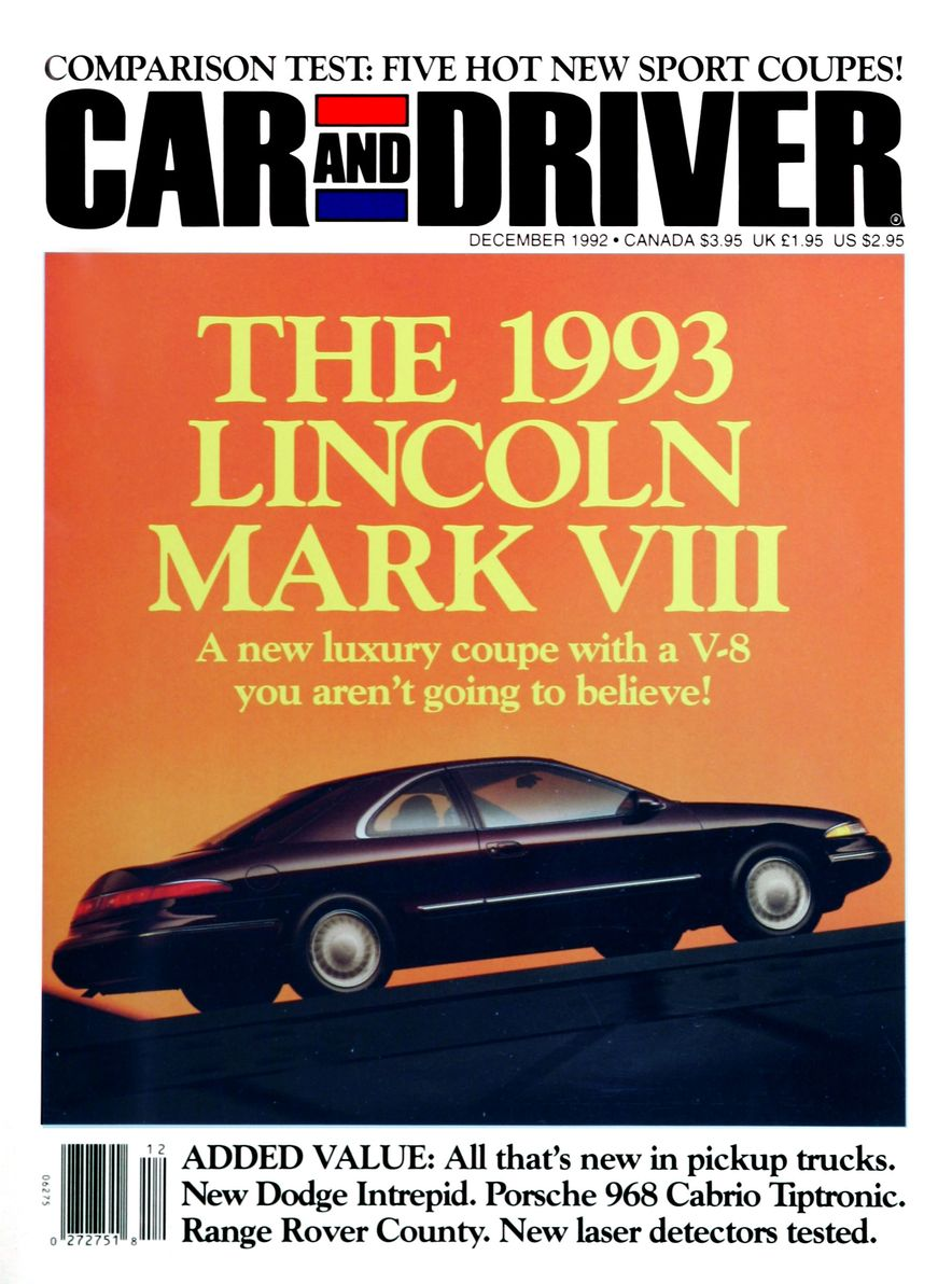 Formula C/D: The Car and Driver Covers of the 1990s - Slide 37