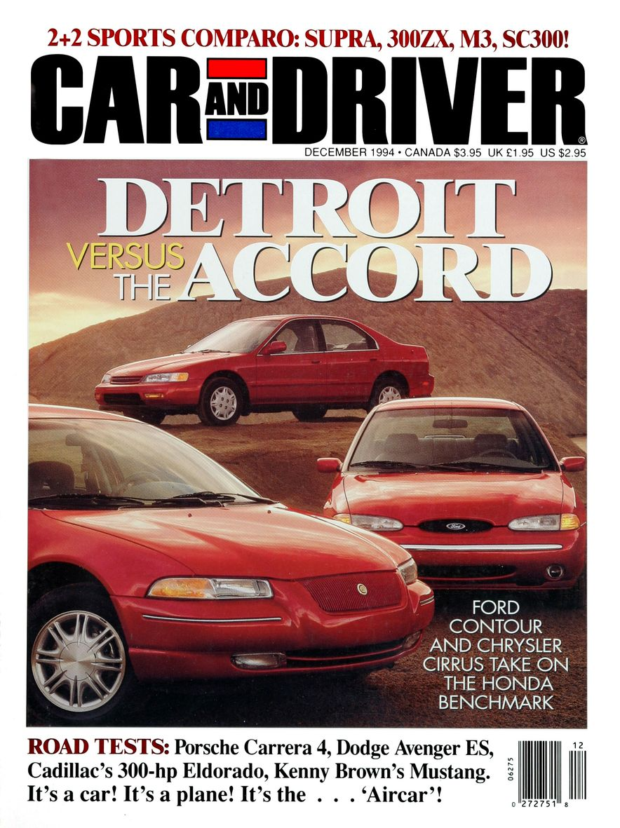 Formula C/D: The Car and Driver Covers of the 1990s - Slide 61