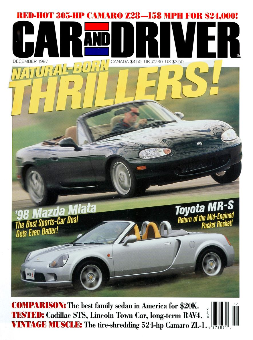 Formula C/D: The Car and Driver Covers of the 1990s - Slide 97