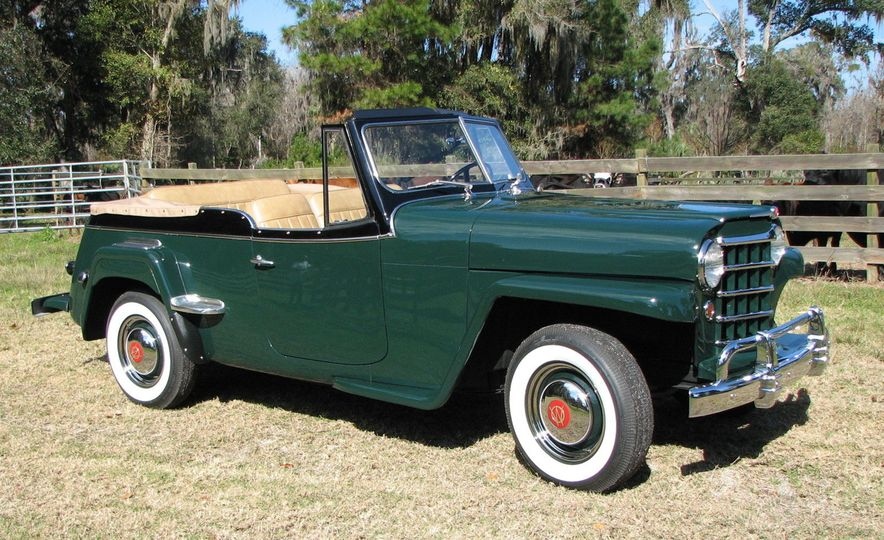 jeep jeepster 1950 willy overland jeepster pictures photo gallery car and driver