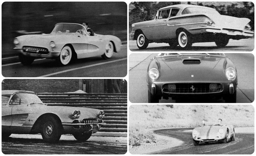 Car and Driver Tested: The 10 Quickest Cars of the 1950s - Slide 1