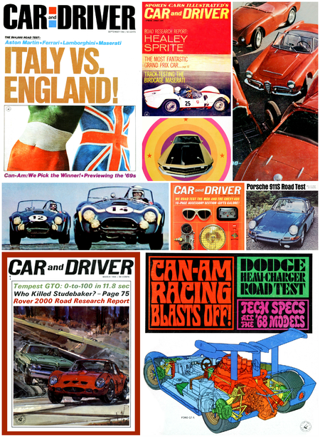 Getting Groovy and into the Groove: The Car and Driver Covers of the 1960s