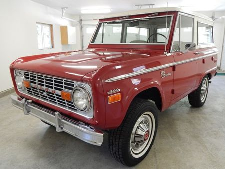 Box Stock: Classic First-Gen Ford Bronco on eBay