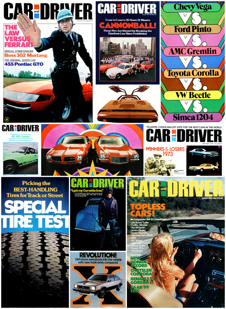 The Us Decade: The Car and Driver Covers of the 1970s