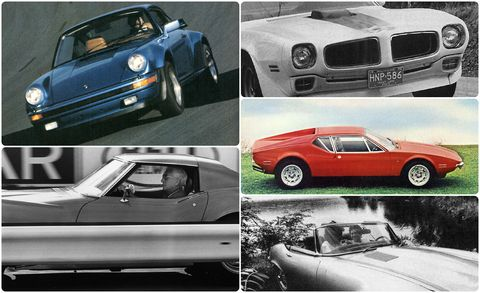 Car And Driver Tested The 10 Quickest Cars Of The 1970s