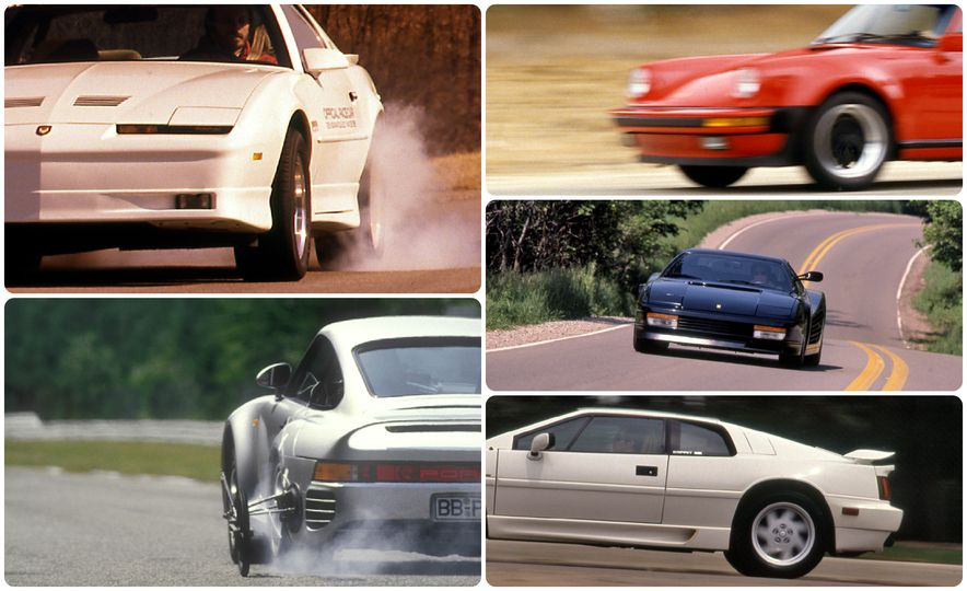 Car and Driver Tested: The 13 Quickest Cars of the 1980s - Slide 1