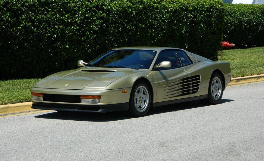 1988 Ferrari Testarossa - Slide 1
