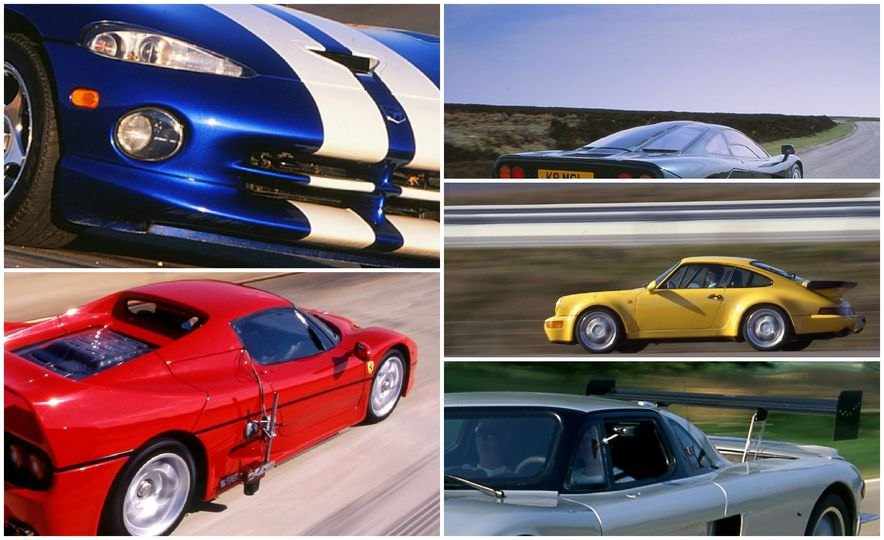Car and Driver Tested: The 12 Quickest Cars of the 1990s - Slide 1