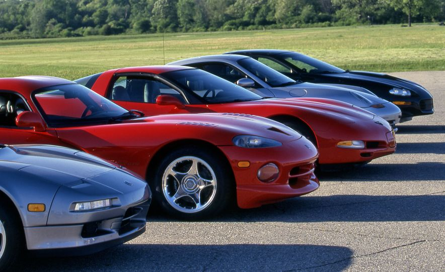 The Quickest Cars We've Tested, From 1955 to Today - Slide 1