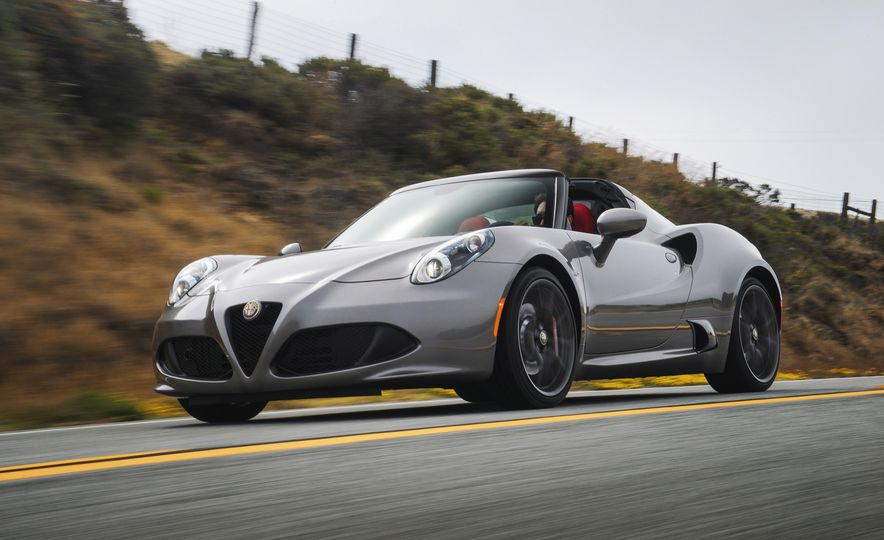 2015 Alfa Romeo 4C spiders - Slide 86
