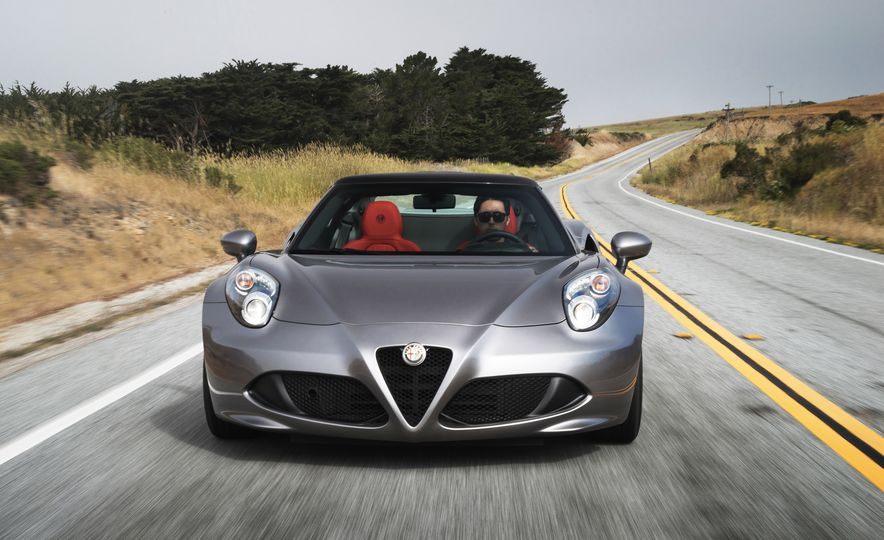 2015 Alfa Romeo 4C spiders - Slide 89