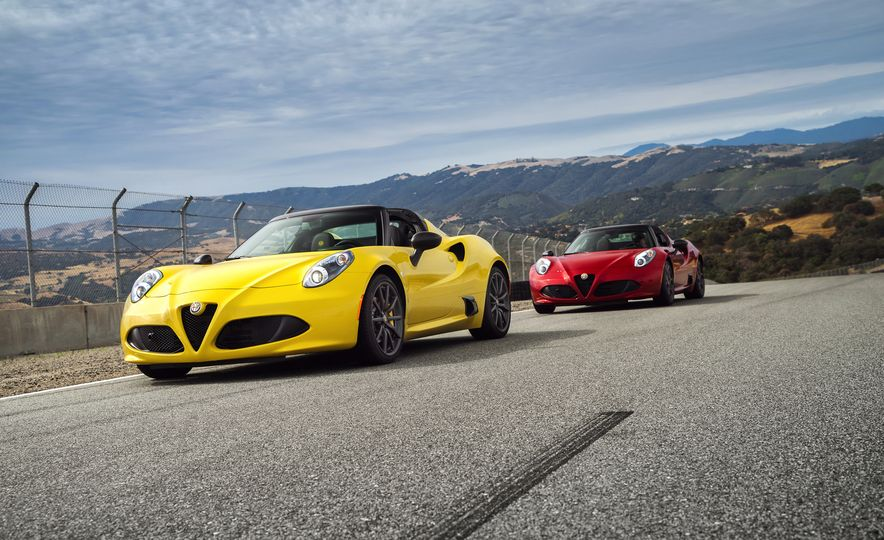 2015 Alfa Romeo 4C spiders - Slide 11
