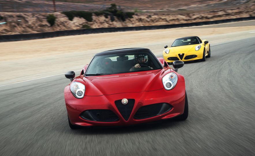 2015 Alfa Romeo 4C spiders - Slide 14