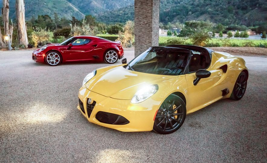 2015 Alfa Romeo 4C spiders - Slide 20