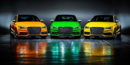 Audi Announces Hyper-Limited, Hyper-Colored S3 Special Edition