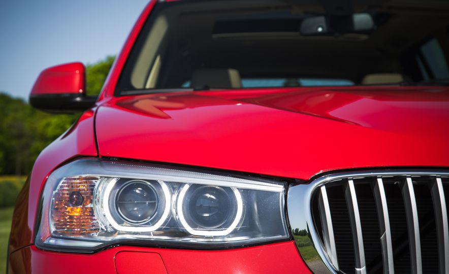 2015 BMW X3 xDrive35i - Slide 14
