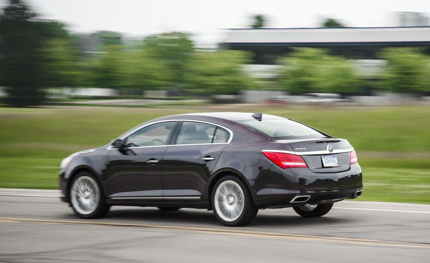2015 Buick LaCrosse Premium 2 - Instrumented Test - Slide 4