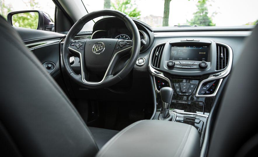 2015 Buick LaCrosse Premium 2 - Instrumented Test - Slide 25