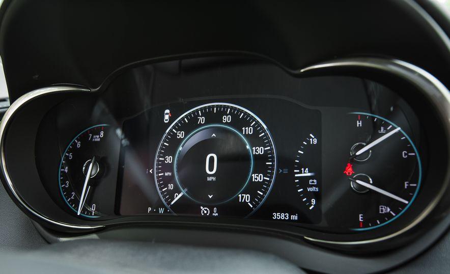 2015 Buick LaCrosse Premium 2 - Instrumented Test - Slide 28