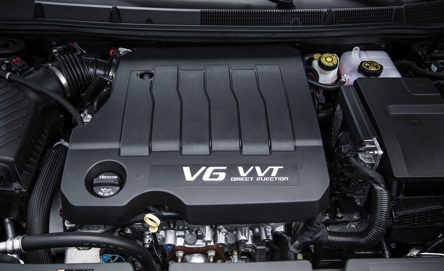 2015 Buick LaCrosse Premium 2 - Instrumented Test - Slide 33