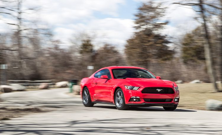 2015 Ford Mustang V-6 – Instrumented Test